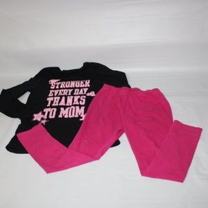 Lot Children Place Long sleeve tee & Pink legging